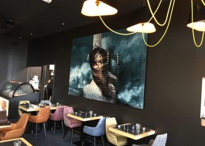 Décoration intérieure restaurant