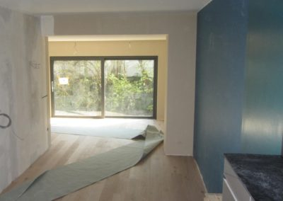 Transformation d'une maison à Luxembourg – Beggen
