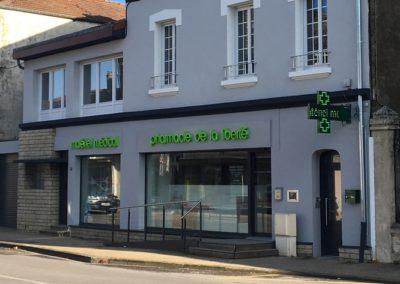 Extension et rénovation d'une pharmacie